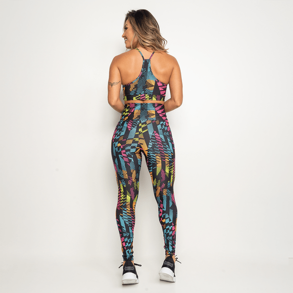 Legging-Fitness-Preta-Folhas-Coloridas-LG1414