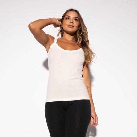 Camiseta-Fitness-Canelada-Marfim-CT428