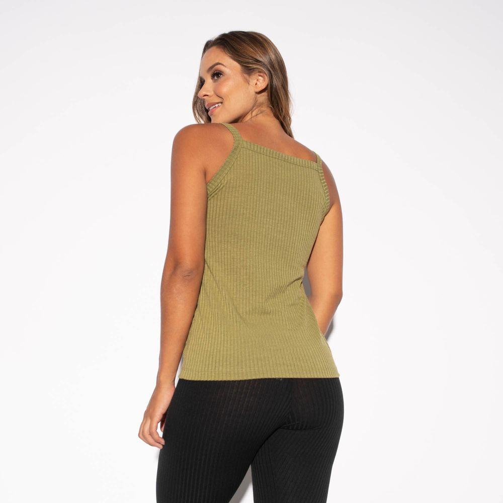 Camiseta-Fitness-Canelada-Verde-CT431