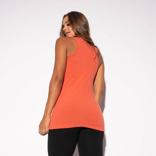 Camiseta-Fitness-Canelada-Salmao-Alongada-CT435