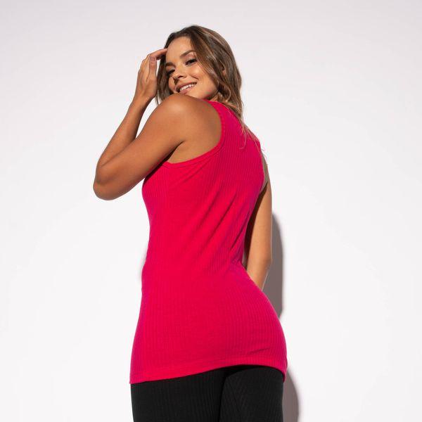 Camiseta-Fitness-Canelada-Rosa-Alongada-CT436