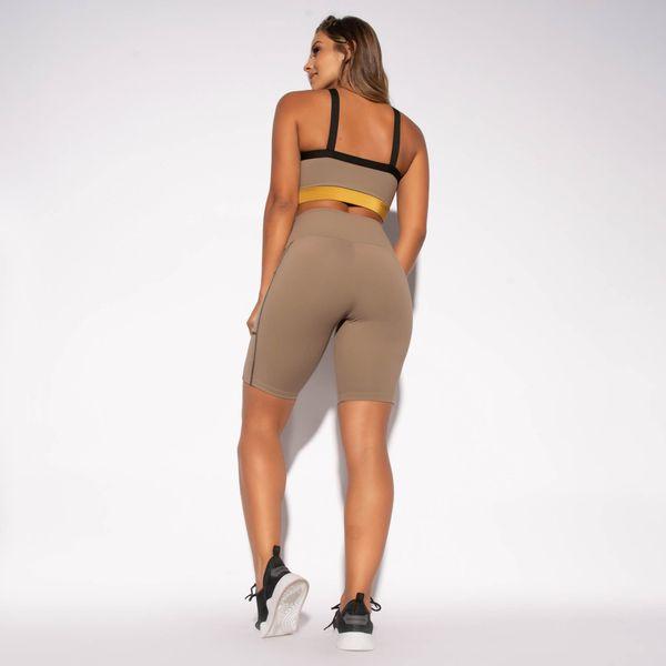 Bermuda-Fitness-Marrom-Poliamida-com-Bolso-BD107