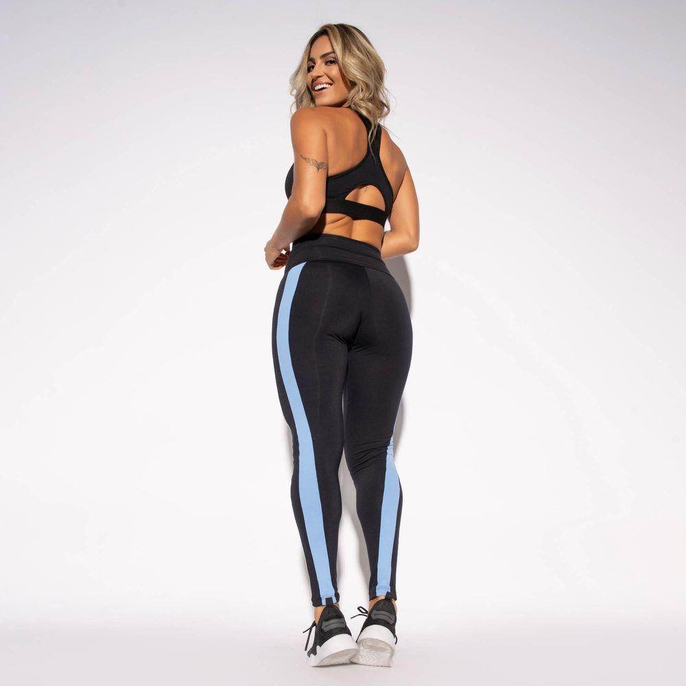 Legging-Preta-Poliamida-Recorte-Cinza-e-Azul-LG1451