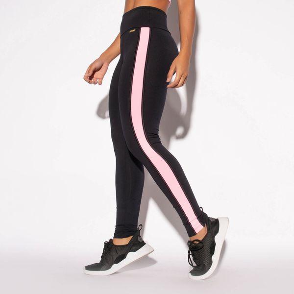Legging-Fitness-Preta-Poliamida-Recorte-Lateral-Rosa-LG1453