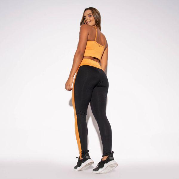 Legging-Preta-Poliamida-Recorte-Amarelo-LG1480