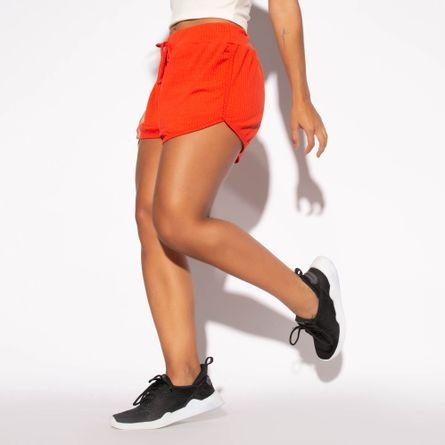 Short-Fitness-Canelado-Laranja-SH213