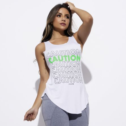 Camiseta-Fitness-Viscolycra-Branca-Caution-CT505
