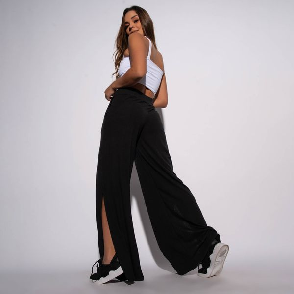 Calca-Pantalona-Canelada-Preta-Lisa-CF057