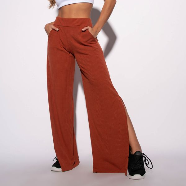 Calca-Pantalona-Canelada-Ferrugem-Lisa-CF060