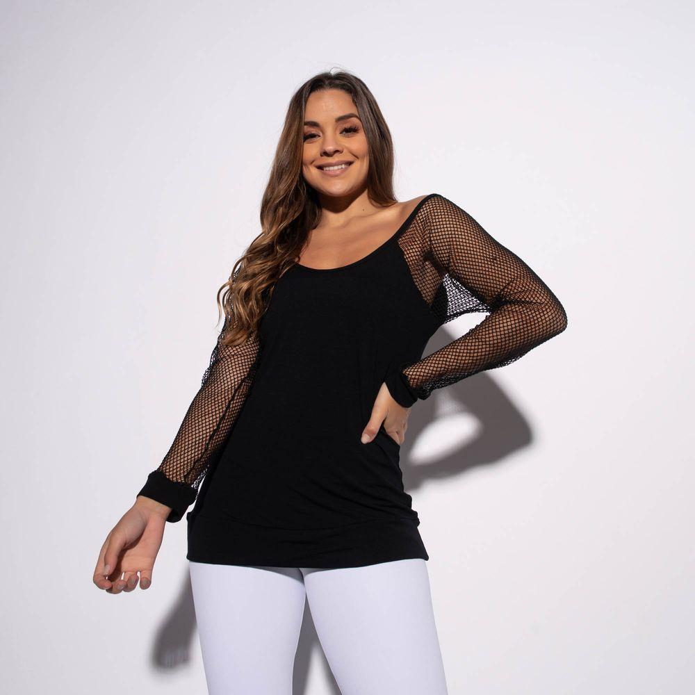 Blusa-Fitness-Viscolycra-Preta-Mangas-em-Tela-BL363