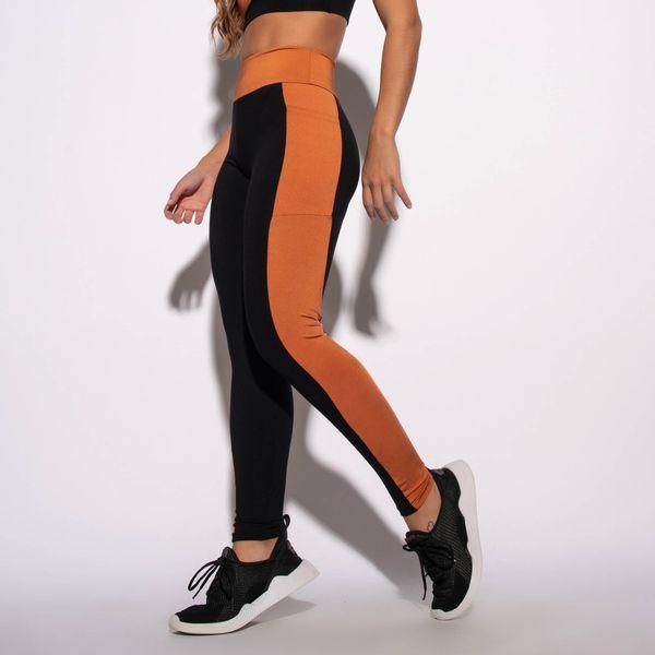 Legging-com-Bolso-Fitness-Preta-e-Laranja-LG1561