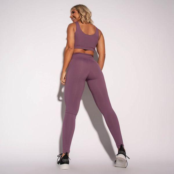 Legging-Fitness-Poliamida-Lisa-Roxa-LG1586