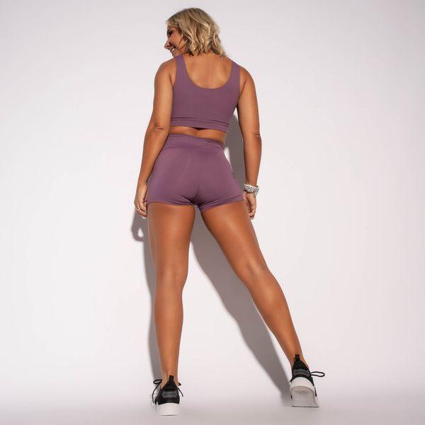 Short-Fitness-Poliamida-Liso-Roxo-SH318