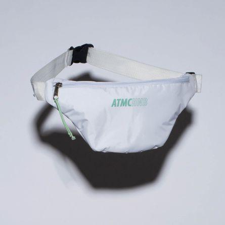 Pochete-Fitness-Nylon-Atomic-Branca-e-Verde-BA042