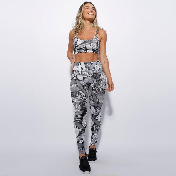 Conjunto-Fitness-Cintura-Alta-Folhas-Preto-e-Branco-CO153