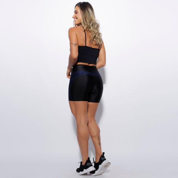 Bermuda-Fitness-Preta-Recorte-Geometrico-BD113