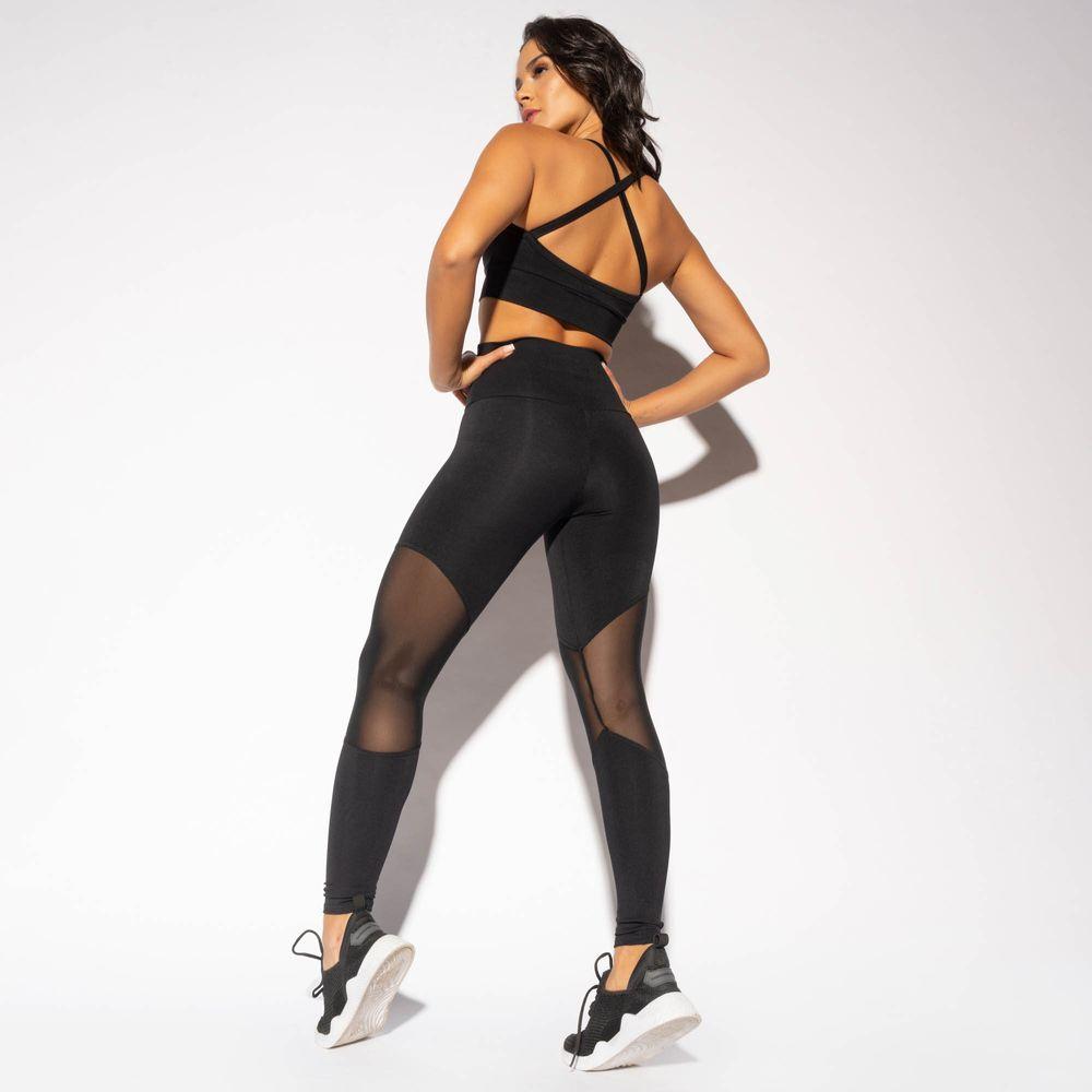 LG1605-Legging-Cintura-Alta-Fitness-Preta-com-Recorte-Tule