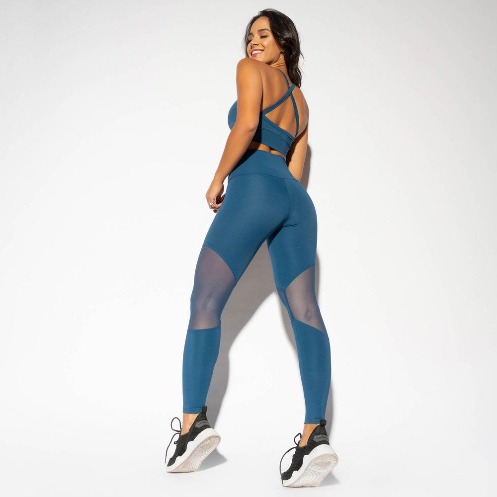 LG1607-Legging-Cintura-Alta-Fitness-Azul-com-Recorte-Tule