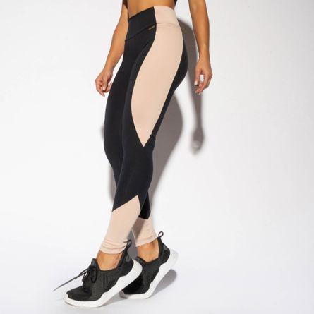 LG1654-Legging-Fitness-Preta-Recorte-Bege