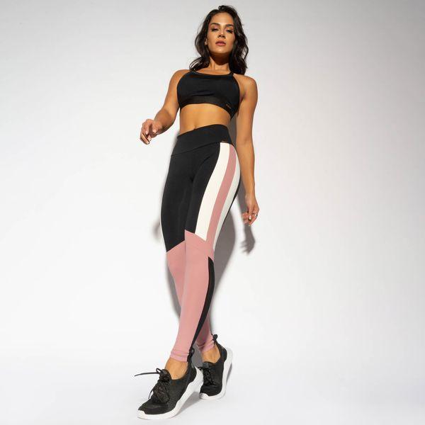 LG1664-Legging-Fitness-Preta-Recorte-Marfim-e-Rose