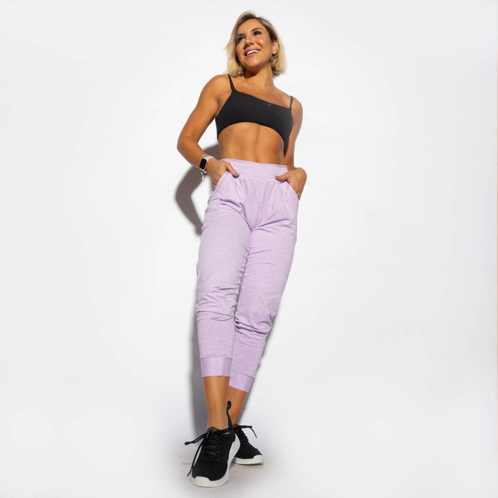 Jogger-Fitness-Dry-Mesclada-Lilas-CF074