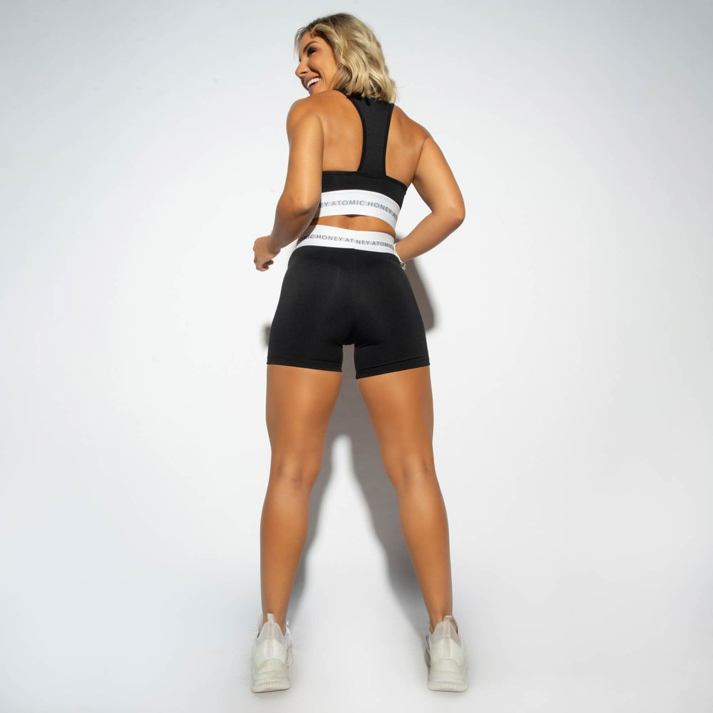 Short-Cintura-Alta-Fitness-Honey-Be-Preto-SH368