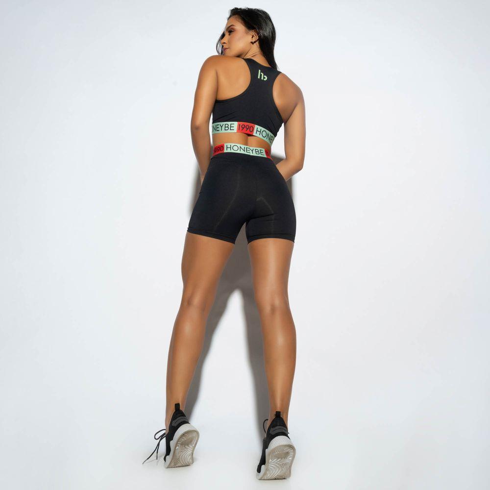 Short-Fitness-Preto-Elastico-Verde-SH390