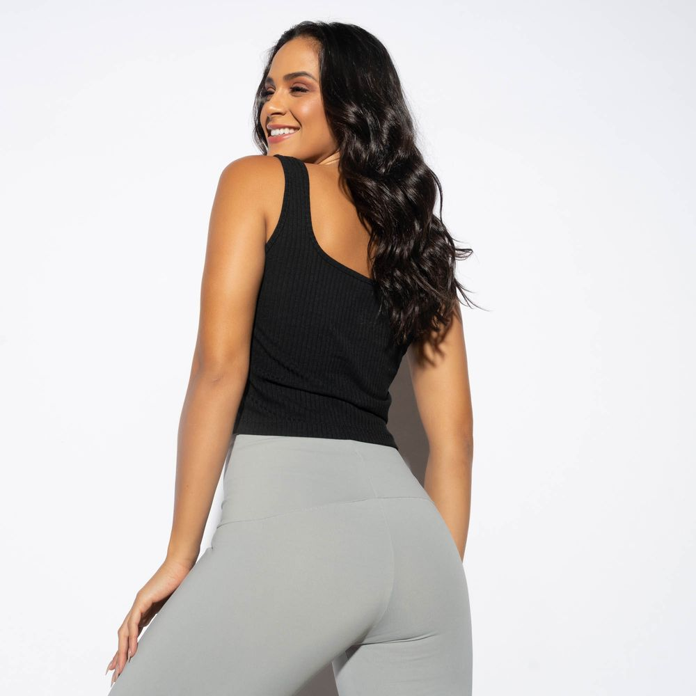 Cropped-Regata-Fitness-Canelado-Preto-CR111