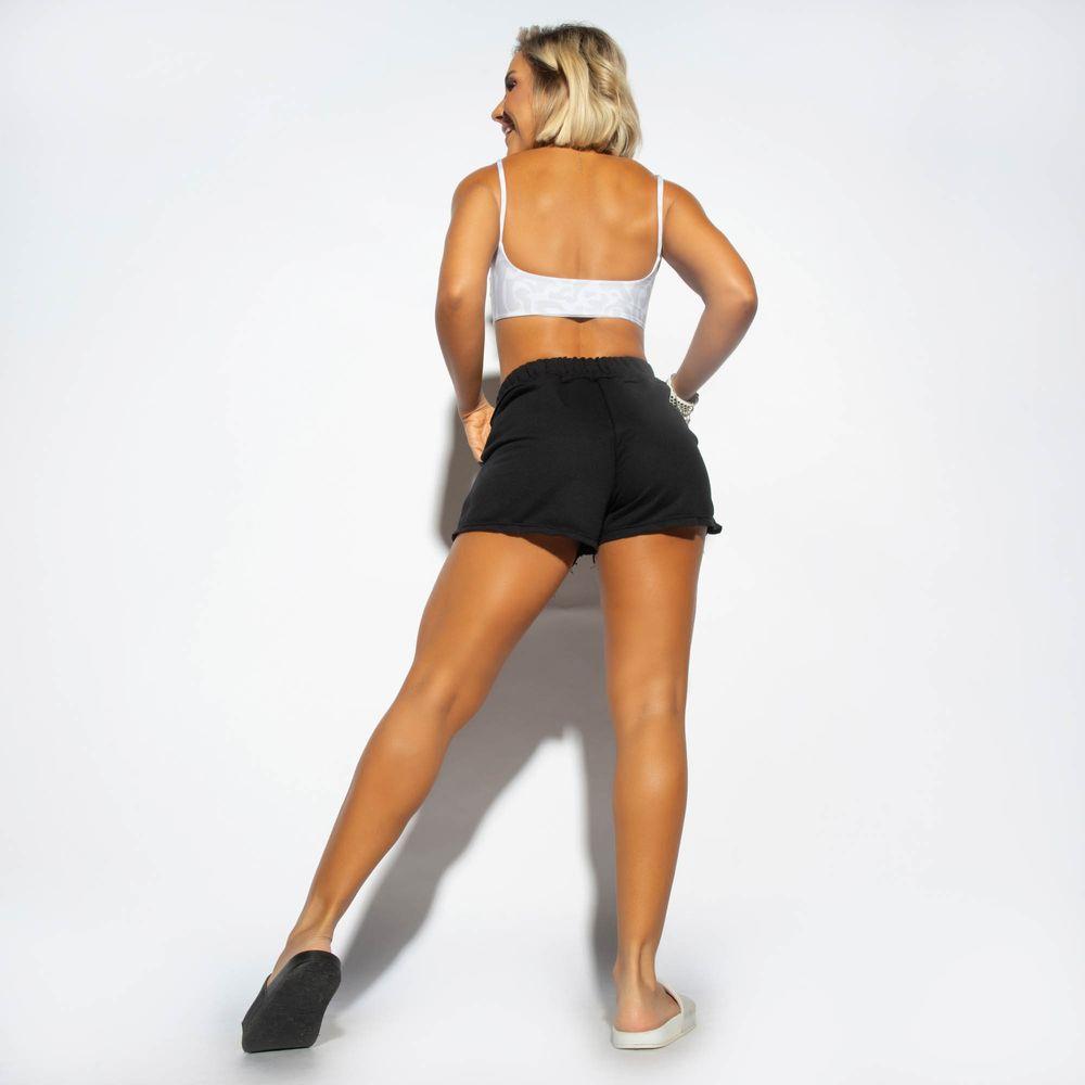 Short-Cintura-Alta-Fitness-Moletom-Preto-SH384