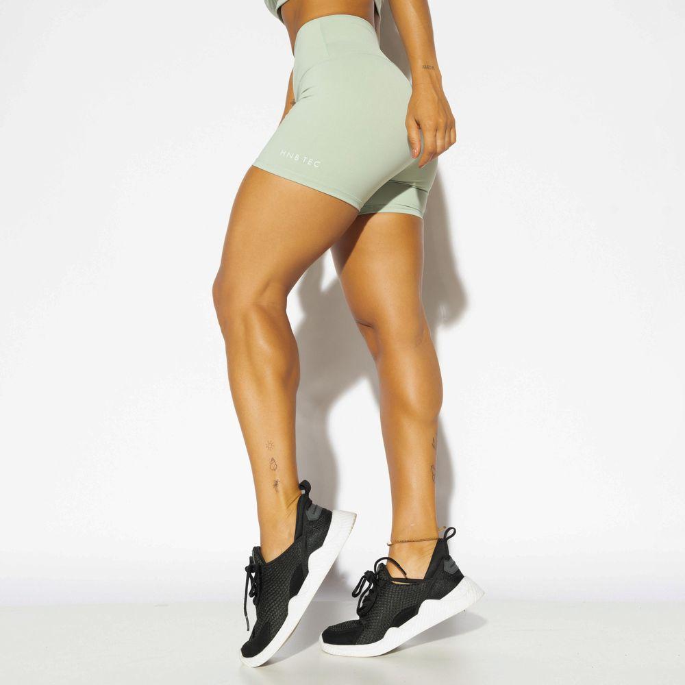 Short-Cintura-Alta-Fitness-Verde-HNB-Tec-SH407