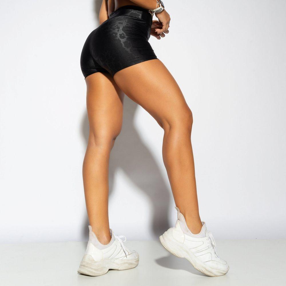 Short-Fitness-Preto-Shine-SH414