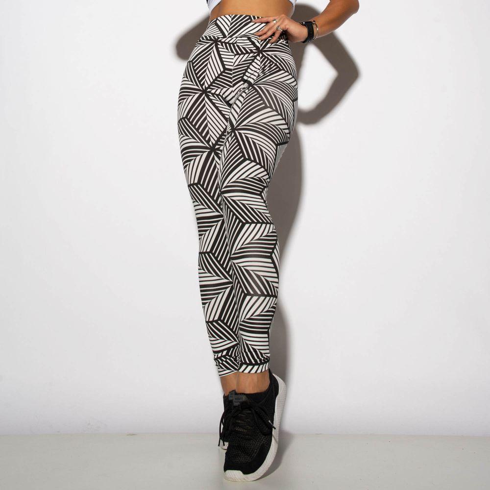 Legging-Fitness-Estampada-Preta-Geometric-LG1728