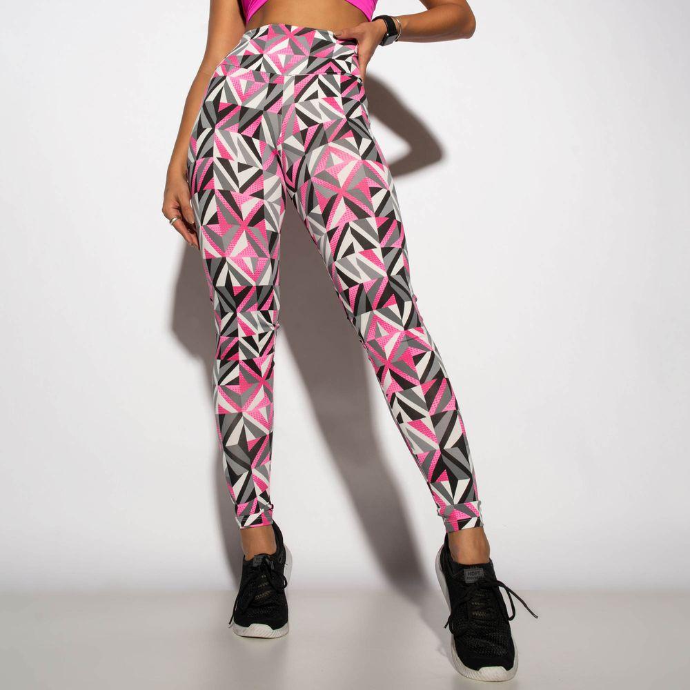 Legging-Fitness-Estampada-Cinza-Geometric-LG1780