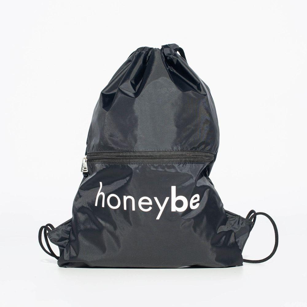 Mochila-Saco-Fitness-Preta-Honey-Be-MH017