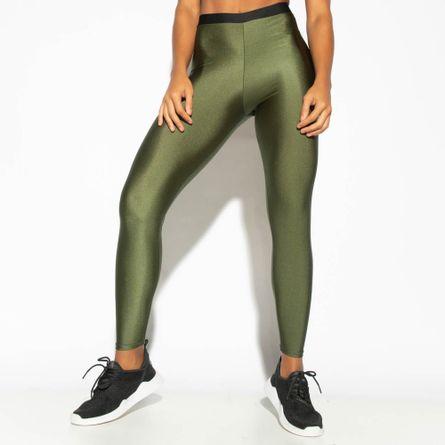 Legging-Fitness-Verde-Militar-Elastico-Gloss-LG1761